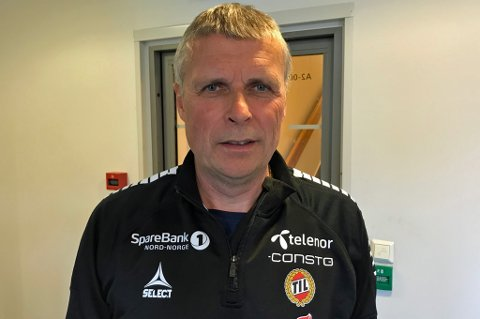 STERKT SKUSSMÅL: Truls Jenssen var den siste hovedtreneren i TIL før Simo Valakari, i noen uker. Han mener finnen nok er den beste treneren som har vært i TIL så langt. Det kommer fra en mann som blant annet spilte under Tommy Svensson.