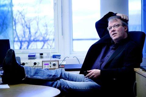 BEHOLDT LØNNA: Pål Hansen ga seg som distriktssjef i NRK i 2017, etter nesten ti år i stillingen. Men da han ble ansatt som journalist, beholdt han imidlertid lønna på over én million kroner.