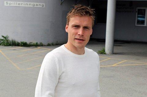VELKOMMEN HJEM: Ruben Yttergård Jenssen hjemme på Alfheim ved en tidligere anledning. TIL ønsker å se på muligheten for om 30-åringen kan tenke seg å returnere til gamleklubben allerede i sommer, litt før han egentlig har planlagt å vende hjem.