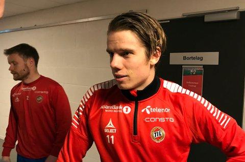 LANGT NEDE: Robert Taylor (t.h.) og Tom Høgli (t.v.) la seg flate og tok skylden for hvert sitt mål da TIL røk 0-3 for Brann i Bergen.