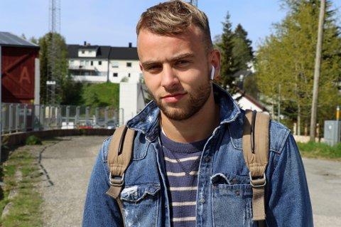 FLYTTET HJEM: Brage Berg Pedersen (19) er på plass i Tromsø igjen etter en sesong i Primavera-laget til italienske Genoa. Med kontrakt ut 2018 vil han gjerne overbevise TIL-ledelsen om at de bør satse videre på ham. Da er det heller lite beleilig med en plagsom lyskeskade.