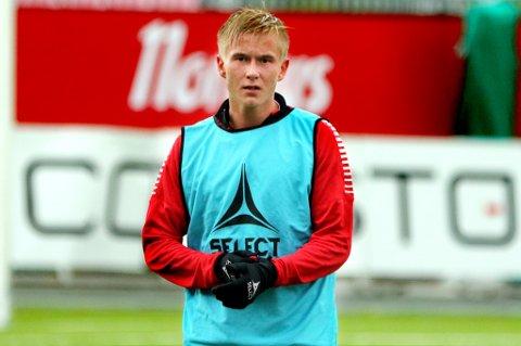 PÅ KLUBBJAKT: Brian Stangnes Kjeldsberg reiste som 17-åring til tyske Kaiserslautern. Til sommeren går kontrakten ut, og 20-åringen vil finne seg en ny arbeidsgiver. Det kan godt bli i Norge.
