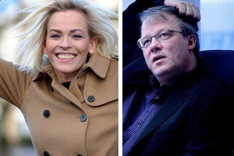 Carina Olset og Pål Hansen er to av de 31 som har over millionen i lønn. Foto: Nordlys