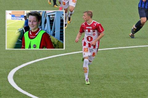 PROFFKONTRAKT: August Mikkelsen (t.v.) og Henrik Johnsgård har begge signert proffkontrakt med TIL.