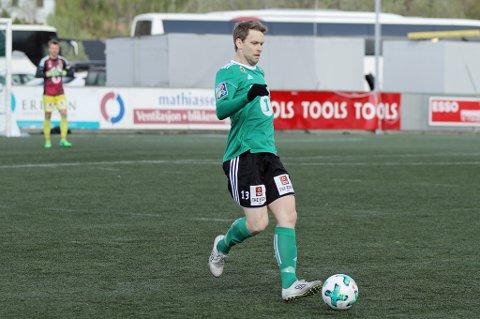 BESTEMANN: Christian Arnesen var FILs beste spiller mot Frigg, i oppgjøret som endte 0-0.