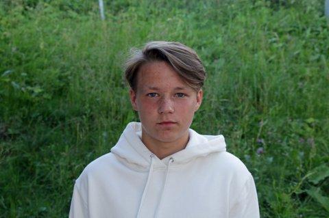 TALENTFULL: August Mikkelsen har tatt store steg de siste årene, og ble belønnet med proffkontrakt av TIL. Det hadde få trodd for bare noen år siden.