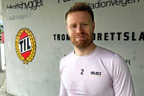 TRØBLER: Tom Høgli får ikke bukt med skadeproblemene i lårene, og er ikke med i troppen mot Rosenborg lørdag. Han håper sommerpausen skal gjøre godt, men medgir at situasjonen tærer kraftig på motivasjonen.