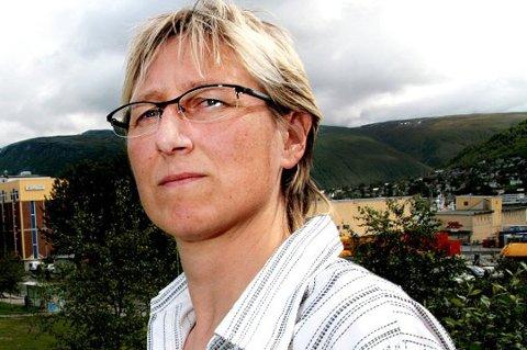 FLERE SAKER: På bordet til Konfliktrådet i Troms. Bildet: Leder Arna Beate Hansen. Arkivfoto.