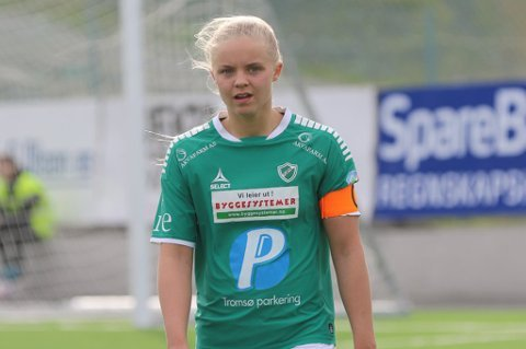 SKUFFET: Celine Nergård var skuffet etter tapet mot Nanset.