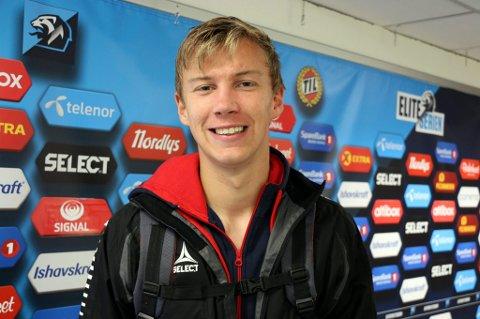 TOPPKARAKTER: Keeper Erlend Jacobsen klarte ikke å forhindre tap for Skarp i Oslo, men noterte seg for fem poeng på børsen.
