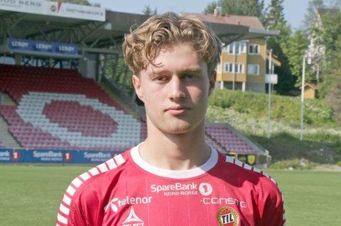 LOVENDE: TIL-spiller Gustav Severinsen.