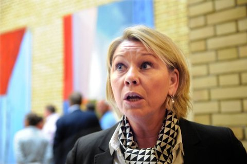 kommunalminister Monica Mæland (H).