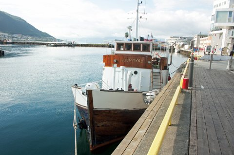 RESTAURANTBÅT: I denne båten skal Tromsøs nyeste restaurant åpnes.