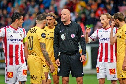 FOTBALLFEST: TIL får som ventet hjemmekamp mot Bodø/Glimt 16. mai. Det er første gang på tre år at TIL spiller hjemme på fotballens festdag. En hjemmeseier 16. mai har ikke TIL opplevd siden 2007.