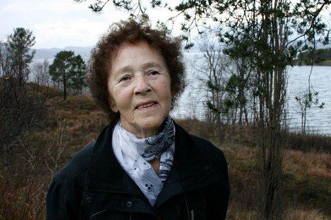 DREPT: Gudrun Myrvang Thomassen ble funnet drept i sitt eget hjem 20. november i fjor. Hun ble 84 år gammel. Her er Thomassen avbildet i forbindelse med en Nordlys-reportasje høsten 2015.