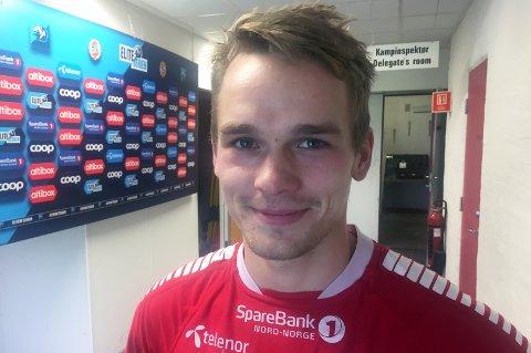 SENTRAL: Kent-Are Antonsen er den eneste spilleren som har startet alle seriekampene i 2018-sesongen. Han kjemper en kamp mot klokka og ei vond tå for å rekke Stabæk-kampen søndag.