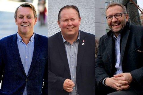 Gunnar Wilhelmsen, Jarle Heitmann og Stein Gunnar Bondevik