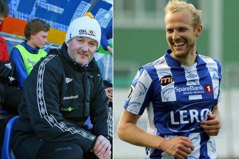 NY DUO: TUIL bekrefter nå at Jonathan Hill (tv) og  Svenn Martinsen Torneus blir klubbens trenerduo denne sesongen.