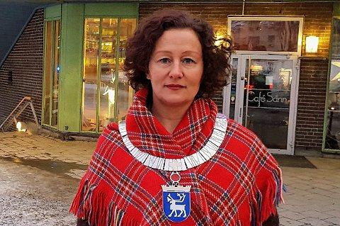 BLE SJOKKERT: Tromsø-ordfører Kristin Røymo (Ap) forteller at det var mer i affekt enn en reell vurdering at hun gjorde seg tanken om å trekke seg fra partiet.