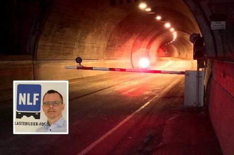 REGIONSJEF: Odd Hugo Pedersen, regionsjef i NLF i Nord-Norge, er kitisk til stenging av tunnelene i Tromsø.