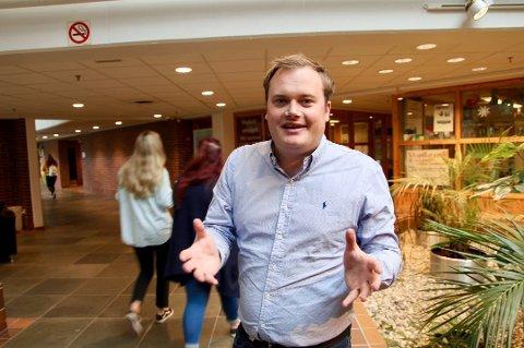I UTVALG: UiT-forsker Jonas Stein.