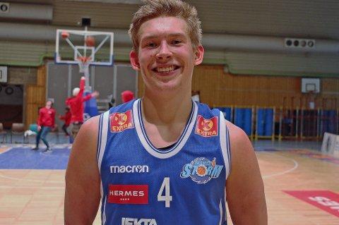 Matchvinner: Johannes Rydningen Lange avgjorde for Storm mot Centrum Tigers.