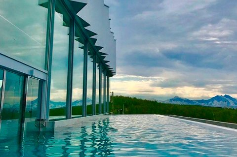DYREST: Tromsøbadet er det dyreste idrettsanlegget som er bygd i fylket.