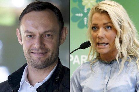 - FOR MYE: Torgeir Knag Fylkesnes og Sandra Borch klarer ikke kombinere vervene på Stortinget og i kommunestyret.
