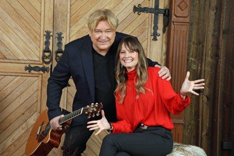 TROMSØ DOMKIRKE: Sangerne Jørn Hoel og Lisa Stokke kommer hjem for å spre juleglede.