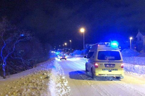 STOR LETEAKSJON: Store redningsstyrker er i sving på Sør-Tromsøya.