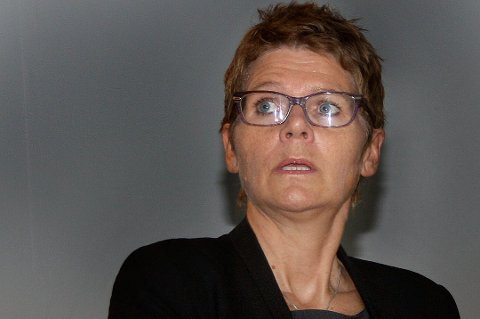 LEDER KRISESTABEN: Administrasjonssjef Britt Elin Steinveg i Tromsø kommune.