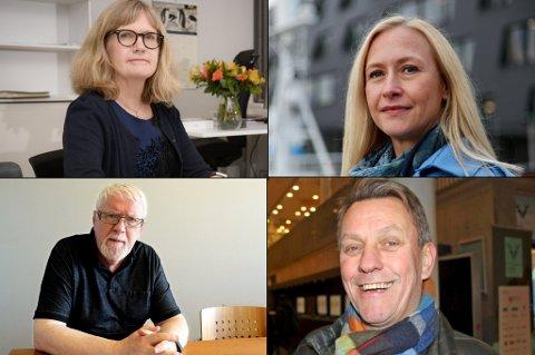 PÅ LISTA: UNN-direktør Anita Schumacher, Renate Larsen i Sjømatrådet/Helse Nord, Trond Mohn-venn Kjell Kolbeinsen og Tromsø-ordfører Gunnar Wilhelmsen er blant de 20 mektigste i Tromsø.