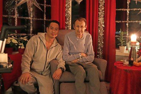 STRØMBRUDD: Da strømmen gikk mistet Bryan Holes far på 71-år oksygenen han er avhengig av.