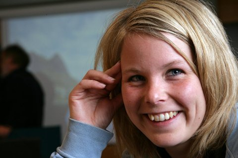 TOPPKANDIDAT: Kirsti Bergstø. Arkivbilde.