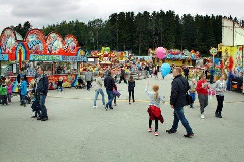 Tivoliet under Finnsnes i Fest - her fra et tidligere år.