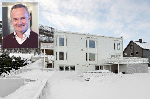 NYE EIERE: Den tidligere konsernsjefen i Sparebank 1 Nord-Norge sitt hus i Tromsdalen ble solgt i forrige uke. Huset på over 300 kvadratmeter ble solgt over takst etter budrunde.