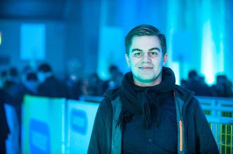 Rakettnatts festivalsjef, Stian Johansen. Foto: Markus Kristoffer Dreyer