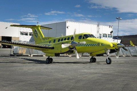 FORHANDLET OM VEDLIKEHOLD: LT Tech og Babcock Scandinavian Air Ambulance har i lengre tid forhandlet om veldikehold av ambulanseflyene i Norge. Arkivfoto.
