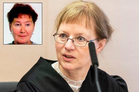 SJØVEGAN-RETTSSAK: Sølvi Wold er bistandsadvokat for de etterlatte til Marie-Louise Bendiktsen (59) (innfelt).