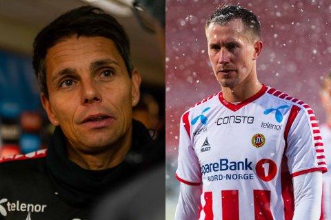 MØTTES TORSDAG: Simo Valakari og Morten Gamst Pedersen hadde en samtale torsdag, og skal ta opp tråden igjen til uka.