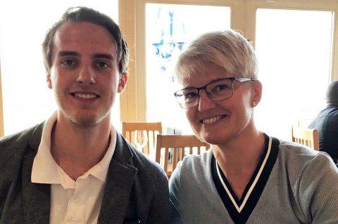 MOR OG SØNN: Charlie Dan Lind, her sammen med mamma Ramona H. Lind.