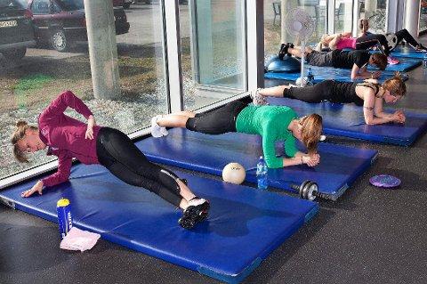 Det å legge inn ei treningsøkt om morgenen har stor effekt.