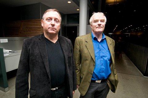 PARTIMAKKERE: Jan Blomseth og Tor Egil Sandnes er nå begge utmeldt av Frp. - Vi satser på å være en ny partigruppe i neste kommunestyremøte, sier Blomseth.