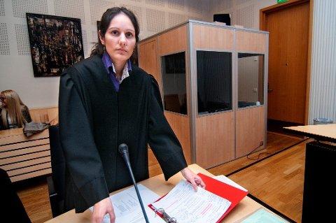 AKTOR: Politiadvokat Lisa-Mari Ellingsen møtte for politiet i fengslingsmøtet før påske. Det endte i fire nye uker i varetekt for en familiefar fra Troms.