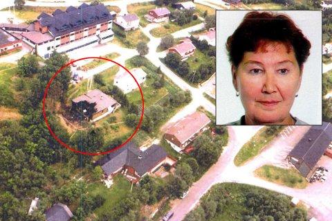 DREPT: Marie-Louise Bendiktsen (59) ble funnet drept i sitt utbrente hjem på Sjøvegan 15. juli 1998. Torsdag ble en mann dømt i den snart 21 år gamle drapssaken.