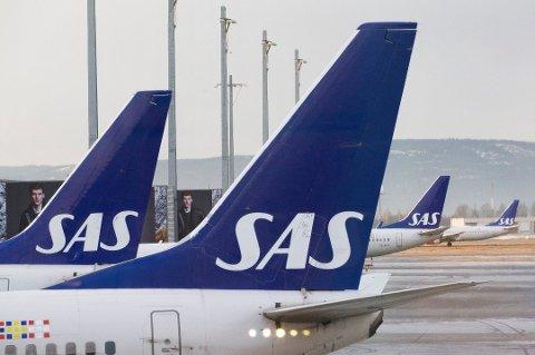 MANGE KANSELLERINGER: Fredag er 205 SAS-avganger innstilt som følge av faren for pilotstreik. Bare fra Oslo lufthavn er 44 SAS-avganger innstilt mellom 06.00 og 12.00.