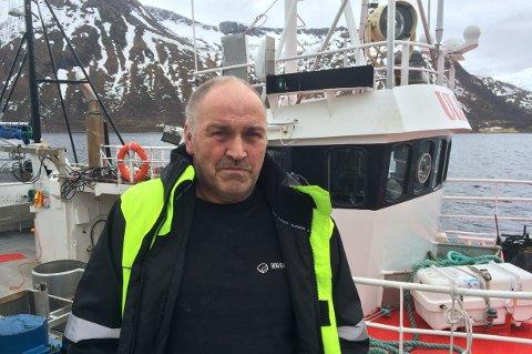 IKKE OVERRASKET: Fisker Per Larsen i Torsken sier ulykka var forventet.