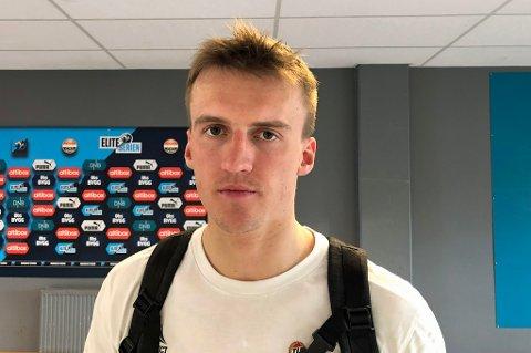 IKKE FRISK: Runar Espejord mener han burde scoret mot Strømsgodset. Samtidig innrømmer Simo Valakari at TIL kan ha brukt Espejord for mye, for tidlig, etter skadeoppholdet i vinter.