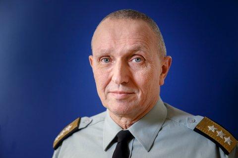 OSLO  20151214. Kjell Grandhagen går ved årsskiftet av som sjef for Etterretningstjenesten.  Foto: Cornelius Poppe / NTB scanpix
