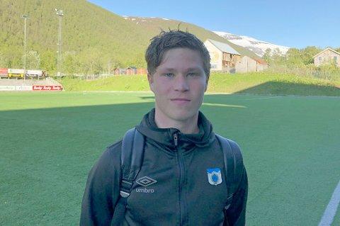 DAGENS MANN: Sander Finjord Ringberg skaffet straffespark og scoret et mål.